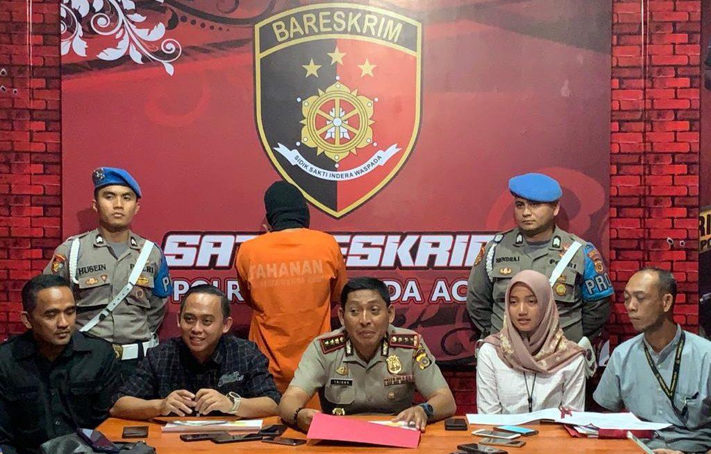 Seorang Mahasiswa di Banda Aceh Tega Cabuli Keponakannya yang Masih Dibawah Umur