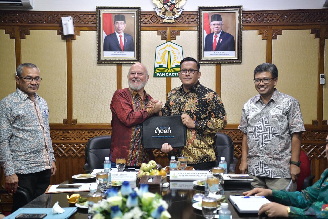 Duta Besar Belgia Terkesan dengan Cita Rasa Kopi Aceh