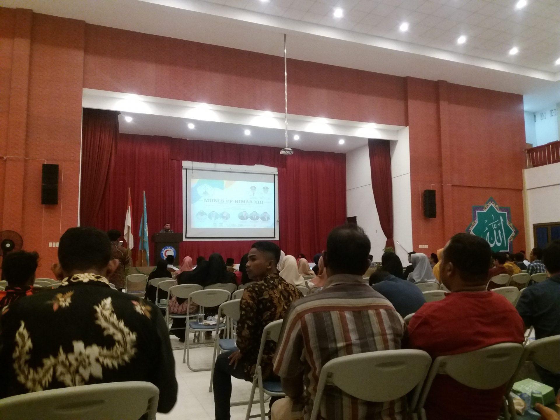 HIMAB laksanakan MUBES ke XIII, Bupati: Kalau Ingin Sukses Berorganisasilah