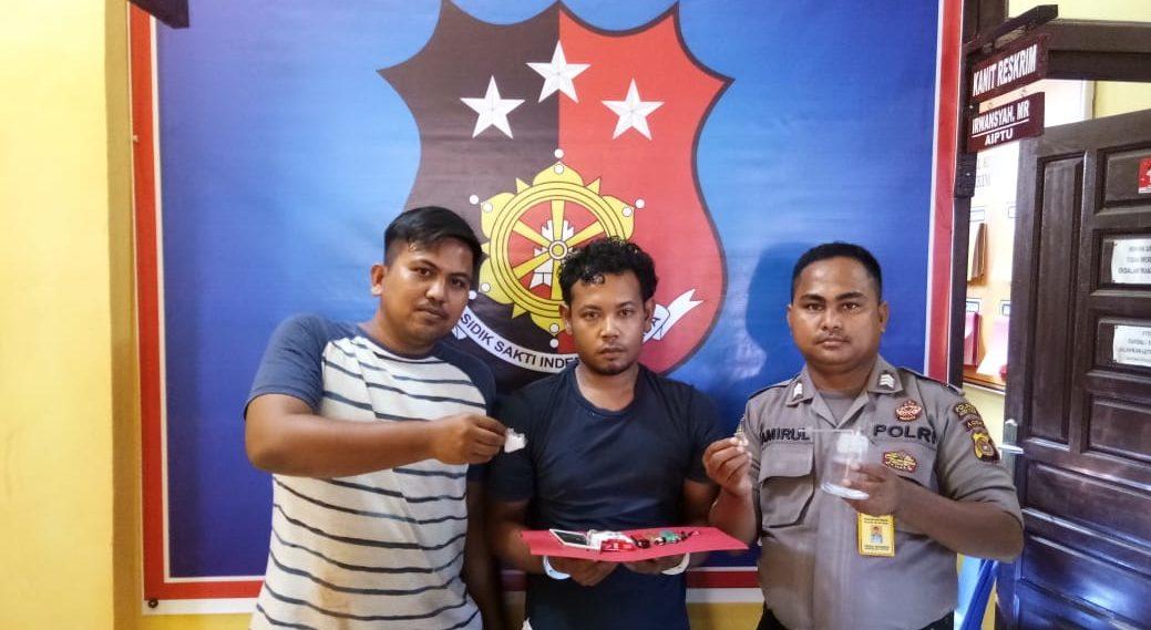 Pemilik Sabu Seberat 3,66 Gram Diamankan Polsek Idi Reyeuk