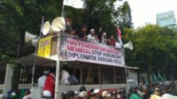 Demo di Depan Kedubes, Ketum PA 212 Ancam Sweeping WN India di RI