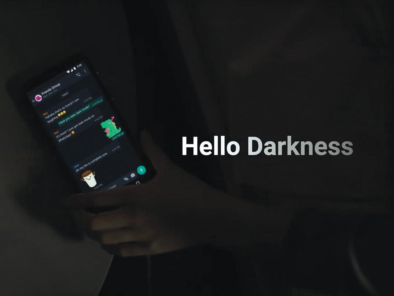 Mengaktifkan Dark Mode WhatsApp Android dan iOS