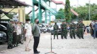 Unsur Satpol-PP dan TNI-Polri Gelar Apel Gabungan Terpadu