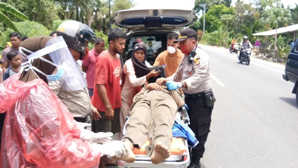 Seorang Warga Langsa Meninggal Saat Menyetir Mobil di Aceh Timur