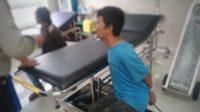 Dua Pria Asal Medan Babak Belur Usai Kedepatan Mencuri di Pasar Lambaro