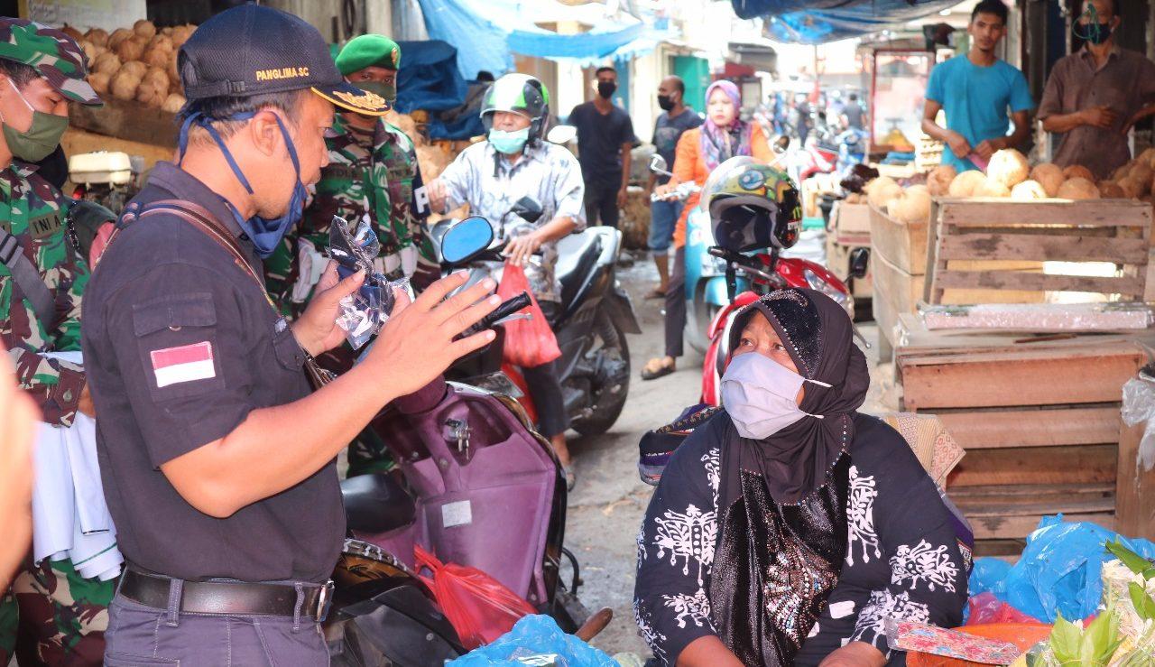 Panglima Shooting Club (PSC) PERBAKAD Edukasi Kesehatan Pada Pedagang Pasar Aceh