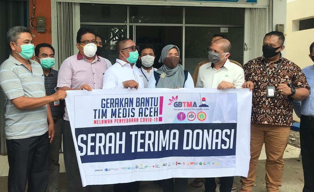 Gandeng BUMN, Rafli Serahkan Bantuan Pencegahan Covid Senilai 500 Juta