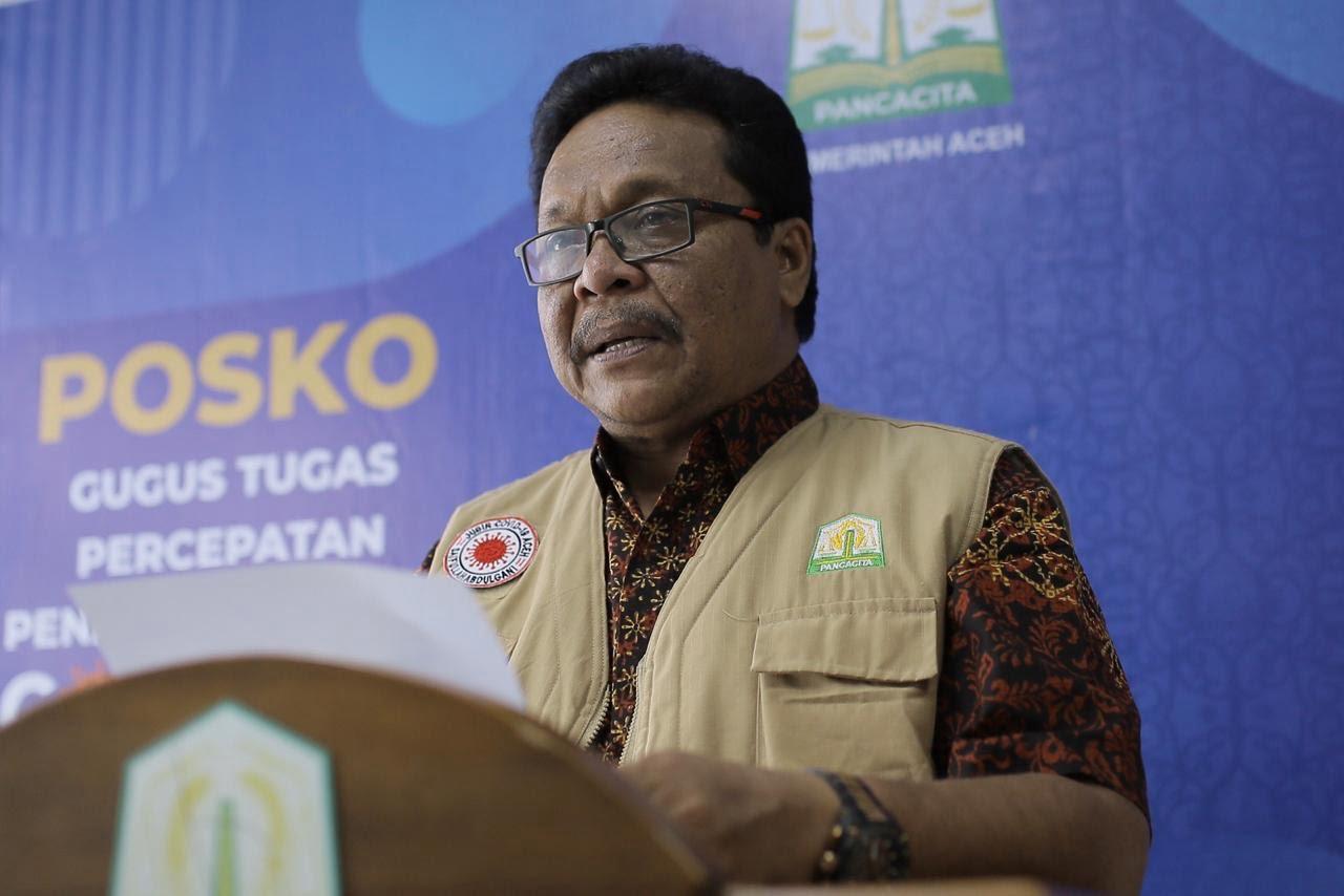 Kasus Covid-19 Tidak Bertambah di Aceh