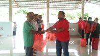 Cegah Covid 19, PDI Perjuangan Bagikan Paket Bantuan di Aceh Besar 9