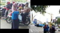 PMII Banda Aceh Banda Aceh Bagi-Bagi Masker Di Bundaran Simpang Lima 3