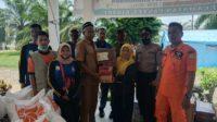 Camat Pantee Bidari Terima Bantuan Banjir Dari Dinsos Aceh Timur 2