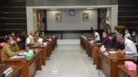 Sekda Paparkan Penggunaan BTT untuk Penanganan Covid-19 kepada DPRA