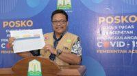 Kasus Covid-19 Aceh Paling Rendah dan Waspada Pemudik ODP 5