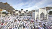 Jamaah Shalat Idul Fitri di Aceh Diminta Jaga jarak
