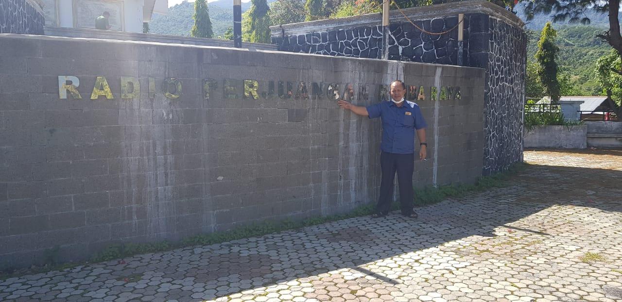Muhammad Ridwan Minta Monumen Radio Rimba Raya Dijadikan Musium Nasional