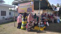 Kelompok PKK Gampong Lamkeunung Adakan Bazar UKM
