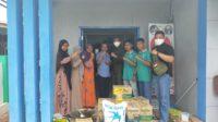 Menwa Universitas Teuku Umar Serahkan Bantuan Untuk Korban Rob Di Meulaboh