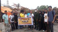 Mahasiswa UTU Menyalurkan Bantuan Kepada Korban Kebakaran di Meulaboh