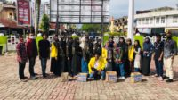 Mahasiswa UTU Melakukan Galang Dana Untuk Korban Kebakaran