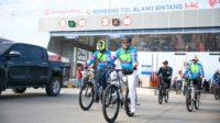 Bupati Aceh Besar Menjajal Jalan TOL Blang Bintang – Jantho