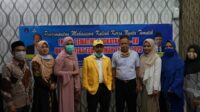 Rektor UTU Tarik Peserta KKN Tematik Secara Simbolis Dengan Virtual Teleconference