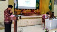 Abrar Zym : Turut Hadir Sekaligus Pimpin Doa Diakhir Pembinaan ASN Kemenag Aceh